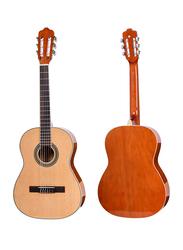 Steiner TR CG31-36 Classical Guitar, Rosewood Fingerboard, Natural Beige