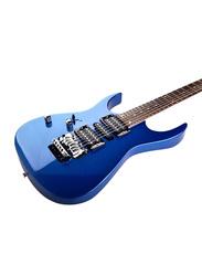 Steiner EG5 Electric Guitar, Rosewood Fingerboard, Blue