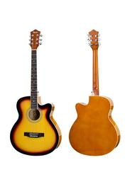 Steiner AG401 Acoustic Guitar, Rosewood Fingerboard, Sunburst