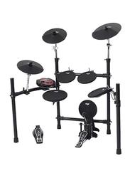 Nux DM 3S Electronic Drum Set, Black