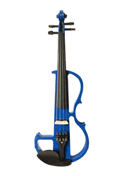 Steiner R E10 Electric Violin, Whitewood Fingerboard, Blue