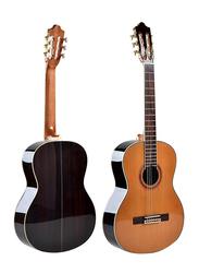 Steiner TR CG400-36 Classical Guitar, Rosewood Fingerboard, Natural Beige