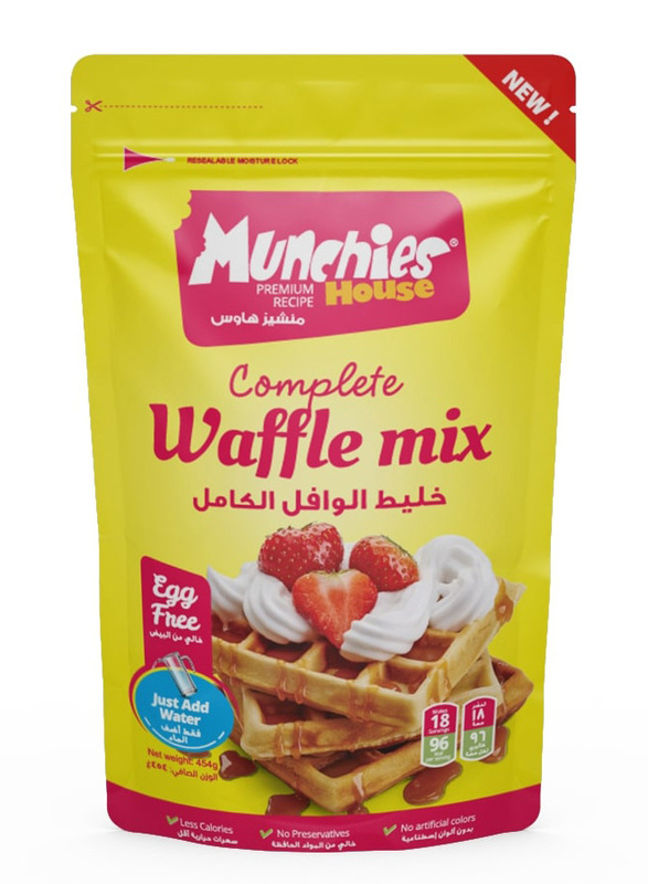Munchies House Complete Waffle Mix, 454 grams