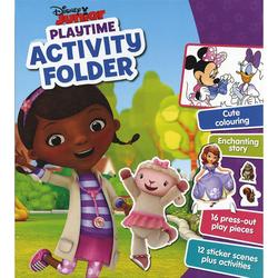Disney Junior Playtime Activity Folder, Hardcover Book, By: Parragon Books Ltd