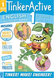 TinkerActive Workbooks: 1st Grade English Language Arts, Paperback Book, By: Megan Hewes Butler and Odd Dot
