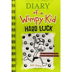 Diary of A Wimpy Kid: Hard Luck 8, Paperback Book, By: Jeff Kinney