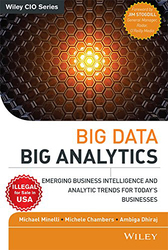 Big Data Big Analytics: Emerging Business Intelligence and Analytic Trends for Todays Businesses, Paperback Book, By: Michael Minelli