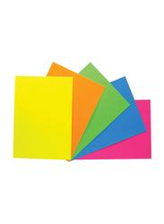 Mont Marte Fluro Art Card, 30 Sheets, 230 GSM, A4 Size, Multicolor