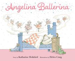 Angelina Ballerina, Hardcover Book, By: Katharine Holabird