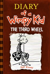Diary of A Wimpy Kid: 7 The Third Wheel, Paperback Book, By: Jeff Kinney