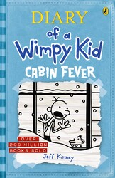 Diary of A Wimpy Kid: Cabin Fever 6, Paperback Book, By: Jeff Kinney
