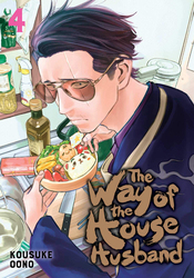 Way of the Househusband, Vol. 4, Paperback Book, By: Kousuke Oono