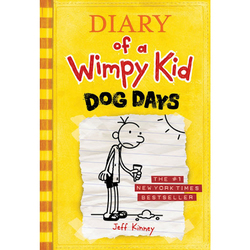 Diary of A Wimpy Kid: 4 Dog Days, Paperback Book, By: Jeff Kinney