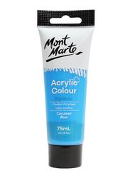 Mont Marte Signature Acrylic Colour, 75ml, Cerulean Blue