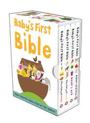 Baby'S First Bible Slipcase, Board Book, By: Roger Priddy
