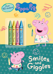 Peppa Pig Smiles and Giggles, Paperback Book, By: Golden Books