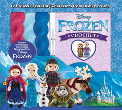 Disney Frozen Crochet : 12 Projects Featuring Characters From Disney Frozen, Mixed Media Product, By: Kati Galusz