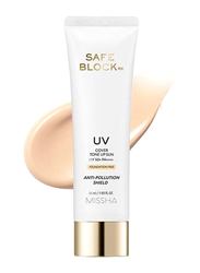 Missha Safe Block Rx Cover Tone Up Sunscreen SPF50+ PA++++, 50ml