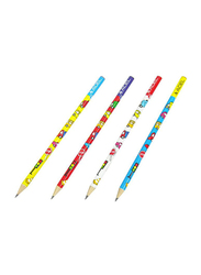 Adel 72-Piece Cars Blacklead Pencil Set, ALPE2061130724, White/Red/Blue/Yellow