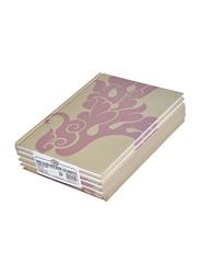 FIS Single Line Notebook Set, 9 X 7 inch, 5 Piece x 100 Sheets, FSNB97100D1, Multicolour