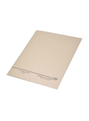 FIS Kendal Manila Square Cut Folders without Fastener, 225GSM, A4 Size, 100 Pieces, FSFF9A4KBF, Buff Beige