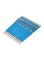 FIS 12-Piece Mechanical Pencil Set, 0.7mm, FSMP07IRIS, Blue