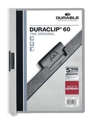 Durable 25-Piece Duraclip File Set, A4 Size, DUPG2209-10, Grey