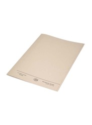 FIS 50-Piece Square Cut Folder Set without Fastener, 320GSM, A4 Size, FSFF9A4BF, Buff Beige