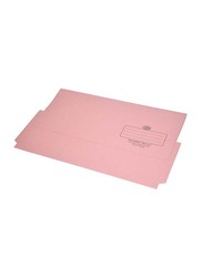 FIS Full Scape Document Wallet Set, 320GSM, 210 x 330mm, F/S Size, 50 Pieces, FSFF8PI, Pink