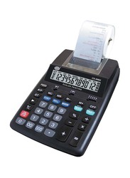 FIS 12-Digit 2-Color Printing Calculator, FSCACS-89B2, Black