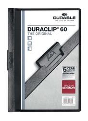 Durable 25-Piece Duraclip File Set, A4 Size, DUPG2209-01, Black