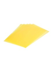 Durable 50-Piece Clear Folder, A4 size, DUCI2339-04, Yellow