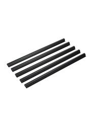 Durable 25-Piece Fixing Bar Set, DUPG2909-01, Black