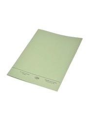 FIS 50-Piece O-Fastener Square Cut Folder Set, 320GSM, F/S Size, FSFF7GR, Green