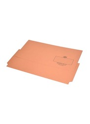 FIS 320GSM Full Scape Size Document Wallet, 210 x 330mm, 50 Pieces, FSFF8OR, Orange