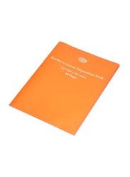 FIS Teachers Lesson Preparation Book, 12 x 80 Pages, A4 Size, FSEBT40A4, Orange