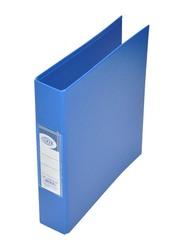 FIS PP 2 Ring Binder, A5 Size, 25mm, Blue