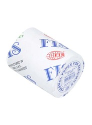 FIS Thermal Paper Roll Box, 57mm x 25m x 1/2 inch, 100 Pieces, FSFX572505, White