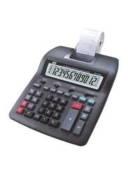 FIS 12-Digit 2-Color Printing Calculator, FSCACP-70B2, Black