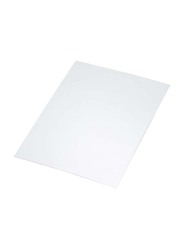FIS Peel & Seal Envelopes with Base Board, 100GSM, 10 x 7 inch, 50 Pieces, FSEV105WP, White