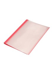 FIS 80-Piece Thermal Binding Cover, 10mm(0.125mm+230G), FSBD02RE, Red