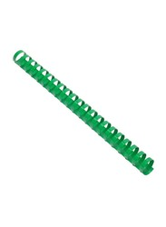 FIS 32mm Plastic Binding Rings, 280 Sheets Capacity, 50 Pieces, FSBD32GR, Green
