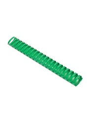 FIS 38mm Plastic Binding Rings, 340 Sheets Capacity, 50 Pieces, FSBD38GR, Green