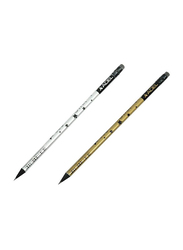 Adel 72-Piece You Are My Star Blacklead Pencil Set, ALPE2031130754, Yellow/Silver