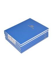 FIS 5-Piece Manuscript Book Set, 5mm Square Line, 25.4 x 20.32cm, 3 Quire, FSMN1083Q5MM, White