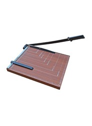 FIS A3 Wooden Paper Trimmers, 15 Sheets Capacity, FSTXWA3, Brown
