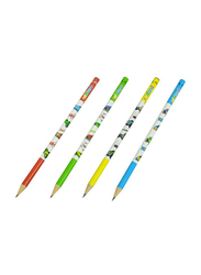 Adel 72-Piece Blacklead Pencil Set, ALPE2061130140, Red/Green/Blue/Yellow