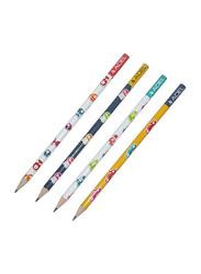 Adel 72-Piece Sea World Pencil Set, ALPE2061130664, White/Blue/Yellow
