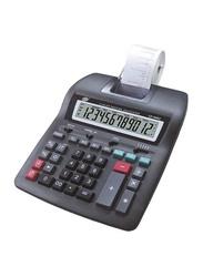 FIS 12-Digit 2-Color Printing Calculator, FSCACP-69B2, Black
