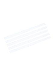 Durable 100-Piece Spine Binding Bar Set, DUPG2900-02, White